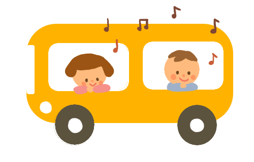 北条幼稚園バス画像